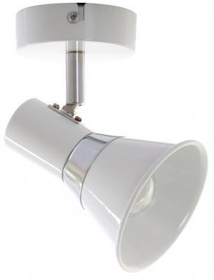 Спот PONS E14X1X60W WHITE/CHROME 1228/1A diy 3w 3000k 315lm warm white light round cob led module 9 11v
