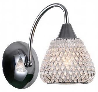 Светильник настенный CRISTY E14X1X40W CHROME 1170/1W светильник настенный j light 1208 1w