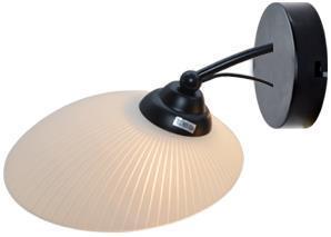 Светильник настенный MODY E27X1X60W BLACK 1289/1W светильник настенный j light 1208 1w