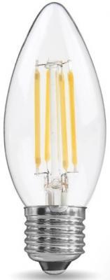 купить Лампа светодиодная REV RITTER 32425 6 filament свеча c37 e27 7w 2700k deco premium теплый свет недорого