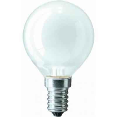 Лампа накаливания PHILIPS P45 60W E14 FR шарик матовый philips b35 60w e14 fr