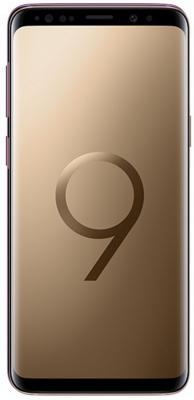 Смартфон Samsung Galaxy S9 64 Гб золотистый (SM-G960FZDDSER) смартфон