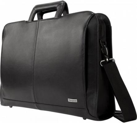 Сумка для ноутбука 14 DELL Targus Executive Topload кожа черный 460-BBUL