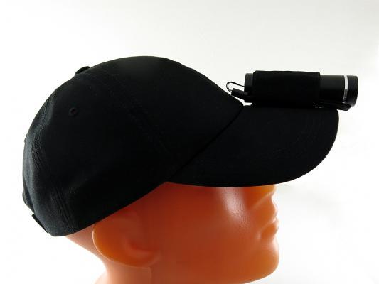 Кепка-фонарь налобный Solaris T-5 NB чёрный кепка фонарь налобный solaris t 5 ng зеленый