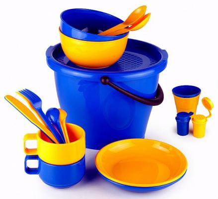 SOLARIS набор посуды на 2 персоны в контейнере