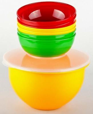 SOLARIS набор посуды: 6 мисок 0,6л в контейнере