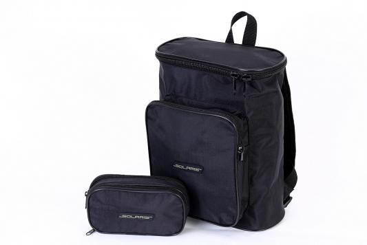 SOLARIS 5504 Рюкзак городской 15 л, модель 1, с органайзером, Чёрный рюкзак кладоискателя модель 1