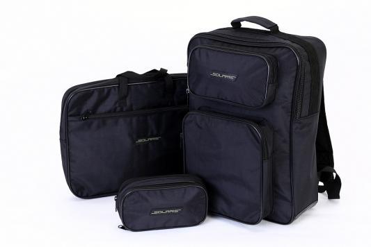 Купить SOLARIS 5519 Рюкзак универсальный 18 л, с чехлом для ноутбука и органайзером, Чёрный, Ранцы, рюкзаки и сумки