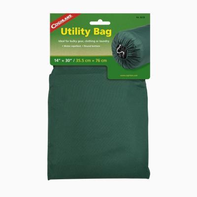 COGHLANS 8230 Нейлоновый мешок для вещей 35,5 х 76 см. Зеленый нейлоновый мешок coghlans 8319 сетка 48х58см
