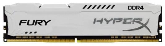 Оперативная память 16Gb (1x16Gb) PC4-23400 2933MHz DDR4 DIMM CL17 Kingston HyperX FURY White HX429C17FW/16 память ddr4 kingston hyperx hx421c14fw 16