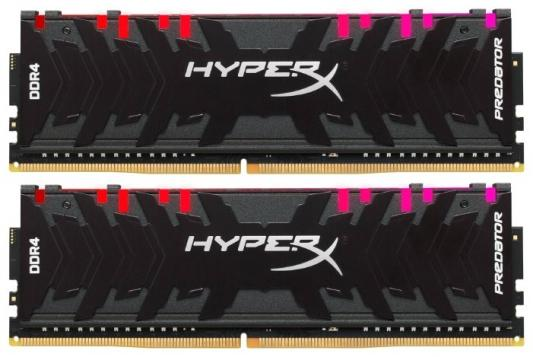 Kingston 16GB 2933MHz DDR4 CL15 DIMM (Kit of 2) XMP HyperX Predator RGB dimm ddr4 16гб 4x4гб kingston hyperx predator xmp hx424c12pb2k4 16