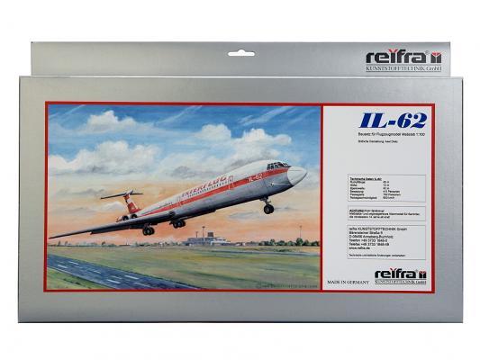 Самолет REIFRA ИЛ-62 серебристый 53 см R-IL62 цены онлайн