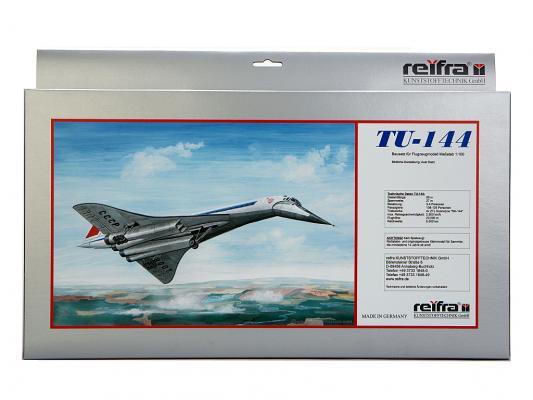 Самолет REIFRA ТУ-144 серебристый 59 см R-TU144 цены онлайн