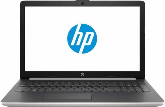 Ноутбук HP 15-da0074ur 15.6 1366x768 Intel Core i3-7020U 500 Gb 4Gb Intel HD Graphics 620 серебристый Windows 10 Home 4KH10EA ноутбук hp stream 14 ax015ur intel celeron n3060 1600 mhz 14 1366x768 4gb 32gb emmc dvd нет intel hd graphics 400 wi fi bluetooth windows 10 home