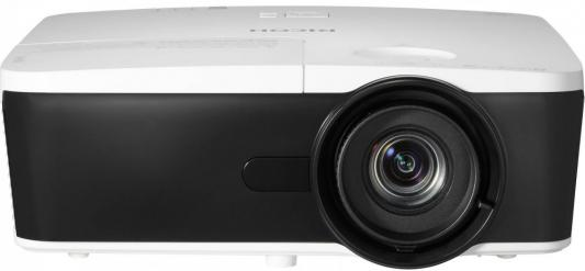 Ricoh PJ X5580, DLP projector, 1024*768, 9000:1, 6000 ANSI Lumens, 6.35kg, HDMI/MHL/DP Диагональ 30 - 300, Проекционное расстояние 1.0 - 13.5 м, Ресурс лампы до 4000 ч, Встроенный динамик - 10 Вт x 2 ; Интерфейсы: Analog RBG Input: D-Sub 15-pin x 2; Video: RCA jack x 1; S-VIDEO: mini DIN 4-pin x 1; HDMI /MHL x 1 , HDMI x 1 ; Display port x 1; Stereo Sound Input: 3.5mm mini Jack x 2; Microphone: 3.5 мм mini Jack x 1; Video: RCA audio jack (Left / Mono) x 1 / RCA audio jack (RIght) x 1; m30 x 2 right hand thread ring gage