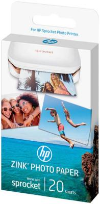 HP ZINK Sticky-Backed Photo Paper, 5x7.6 cm, 20 sheets