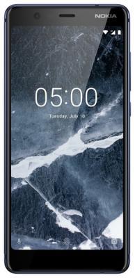 Смартфон NOKIA 5.1 16 Гб синий (11CO2L01A09) цена и фото