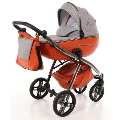 Купить Коляска 2-в-1 Nuovita Intenso (arancio), оранжевый, Коляски для новорожденных