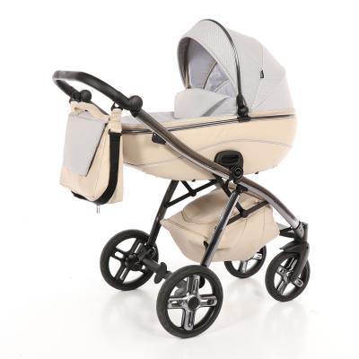 Коляска 2-в-1 Nuovita Intenso (beige) универсальная коляска indigo s f 3 в 1 кожа 35 beige white
