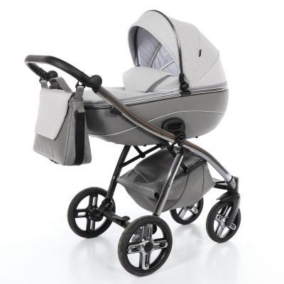 Купить Коляска 2-в-1 Nuovita Intenso (grigio), серый, Коляски для новорожденных