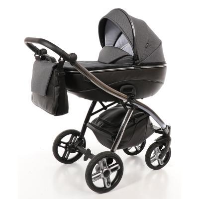 Купить Коляска 2-в-1 Nuovita Intenso (nero), черный, Коляски для новорожденных