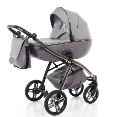 Купить Коляска 2-в-1 Nuovita Intenso (viola), фиолетовый, Коляски для новорожденных