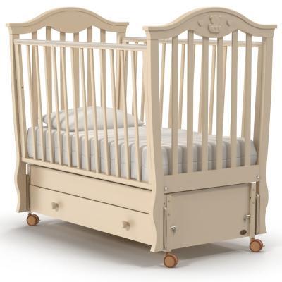 Кроватка с маятником Nuovita Sorriso Swing (avorio) кроватка с маятником sweet baby eligio avorio слоновая кость
