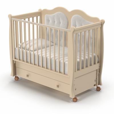 Кроватка с маятником Nuovita Affetto Swing (avorio) кроватка с маятником sweet baby eligio avorio слоновая кость