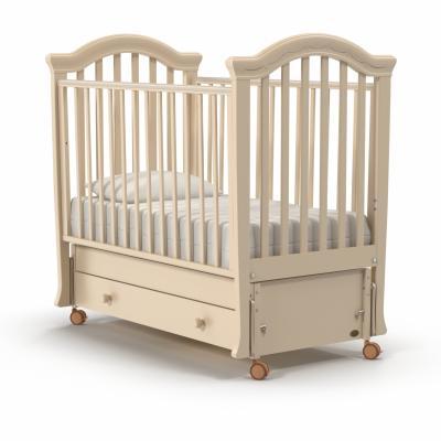 Кроватка с маятником Nuovita Perla Swing (avorio) кроватка с маятником sweet baby eligio avorio слоновая кость