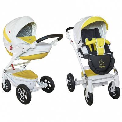 Коляска 2-в-1 Tutek Timer (цвет eco ntm eco9b/b) коляска детская tutek timer 2 в 1