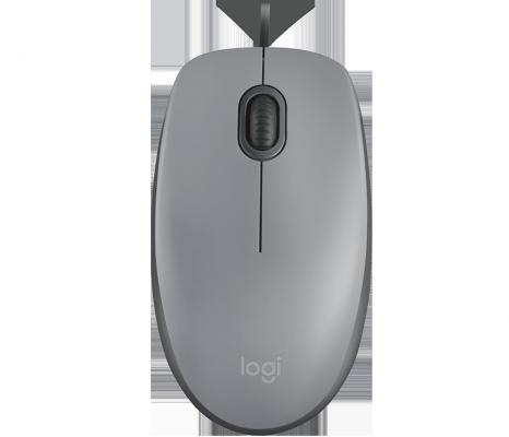 Logitech Mouse M110 Silent USB Mid Grey Ret m110 page 5