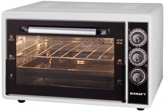 KRAFT KF-MO 3801 W Мини-печь белый мини печь кумтел kf 3100