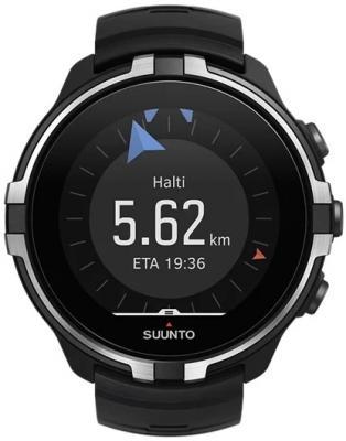 Часы SUUNTO SPARTAN SPORT WHR BARO STEALTH/ Размеры 50x50x17мм, вес 74г, полиамид, силиконовый ремешок смарт часы suunto 9 baro черный