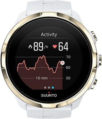 Часы SUUNTO SPARTAN SPORT WHR GOLD/ Размеры 50x50x16.8мм, вес 72г, полиамид, силиконовый ремешок gimto gm246 brand men watch steel luxury gold sport clock quartz chronograph