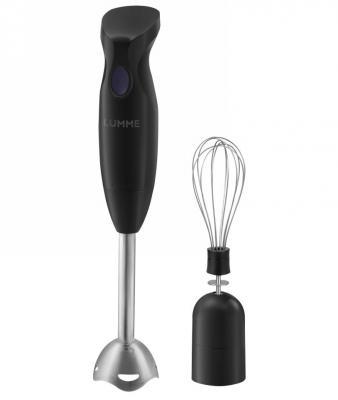 Блендер погружной Lumme LU-1836 300Вт чёрный фиолетовый цена и фото