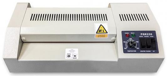 ГЕЛЕОС Ламинатор FGK 320, А3, 2х250 (пленка 60-250мкм), 600 мм/мин, 4 вала, реверс, металл. корпус, мах толщина 2мм ламинатор гелеос лм a3 4r a4 60 250мкм 66см мин