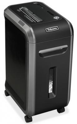 Шредер Fellowes® MicroShred™ 99MS. (12 листов) , 34 литра, 2х14 мм (класс 5), SafeSense™, уничт: скобы/скрепки/карты. биокамин silver smith mini 3 premium 1500 вт серый
