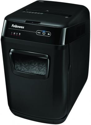 Шредер Fellowes® AutoMax™ 200C. (200 листов) , 32 литр, 4х38 мм (класс 4), автореверс, скобы/скрепки/карты/CD