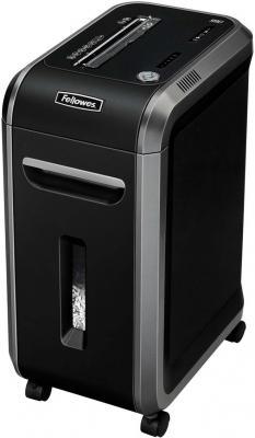 Шредер Fellowes® 99Ci. (17 листов) , 34 литра, 3,9х38 мм (класс 3), 100%Jam Proof, уничтожает: скобы/скрепки/карты/CD