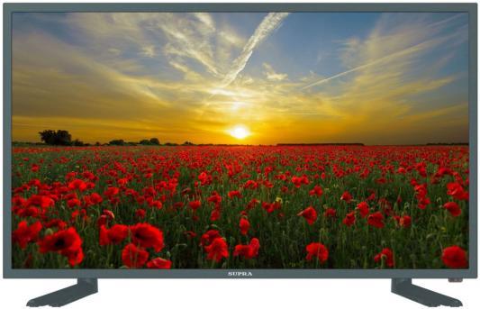 Телевизор LED 32 Supra STV-LC32ST3003W Серый/HD/DVB-T2/DVB-C/DVB-S2/USB/WiFi/Smart TV тюнер dvb t2 supra sdt 75