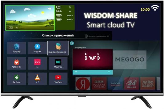 "Телевизор LED 43"" Thomson T43FSL5140 черный серебристый 1920x1080 60 Гц Wi-Fi Smart TV USB цена"