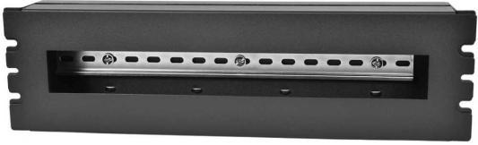 ЦМО 19 панель с DIN-рейкой PS-3U, цвет черный (КП-АВ-9005) цена