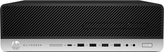 Системный блок HP EliteDesk 800 G4 SFF Core i5-8500 3.0GHz,8Gb DDR4-2666(1),1Tb 7200,DVDRW,USB kbd+mouse,VGA,3y,Win10Pro 4KW28EA hp prodesk 400 g5 sff core i5 8500 4gb 1tb dvdrw usbkbd mouse hp displayport port win10pro 64 bit 1 1 1 wty 1jj79ea