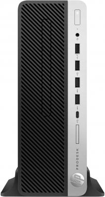 Фото - Компьютер HP ProDesk 600 G4 SFF Intel Core i3 8100 4 Гб 1 Тб Intel UHD Graphics 630 Windows 10 Pro (3XW87EA) платформа lenovo thinkcentre m710e sff intel core i5 7400 4 гб 1 тб intel hd graphics 630 windows 10 pro 10ur003sru