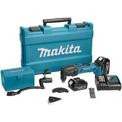 Инструмент многоф. акк. MAKITA DTM50RFE(X1) 18.0В 2x3.0Ач LiION 6000–20000/мин 1.6° 2.0кг +НАБОР