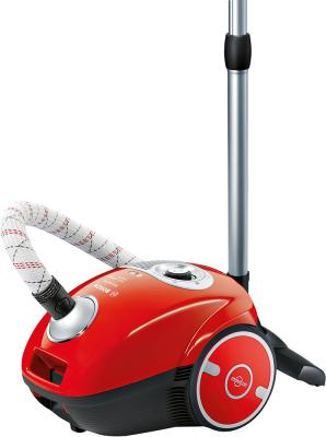 Пылесос Bosch BGL35MOV25 сухая уборка красный пылесос bosch bgs4ugold4 сухая уборка чёрный