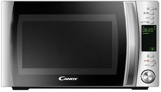 Микроволновая печь Candy CMXG 22DS 800 Вт серебристый микроволновая печь lg mh6044v 800 вт серебристый