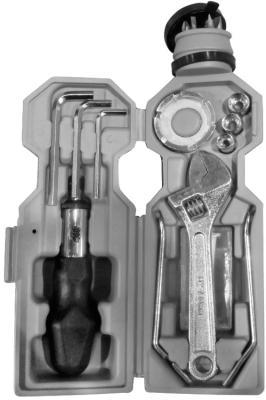 Набор комбинированных ключей KROFT 203030 (3 - 6 мм)  3 предмета