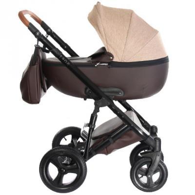 Коляска 2-в-1 Everflo Soft (chocolate) коляска модульная vikalex ferrone 2 в 1 leather white vi72301