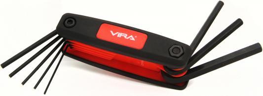 купить Набор ключей VIRA 303144 складной в пластиковом держателе по цене 205 рублей